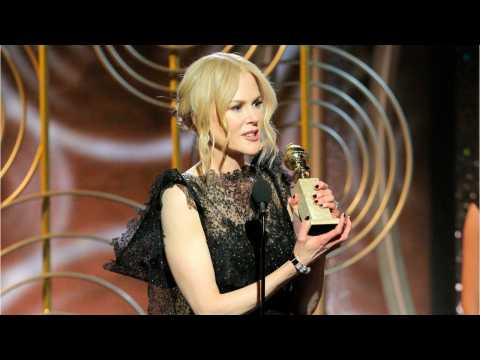 Nicole Kidman Praises Keith Urban at Golden Globes