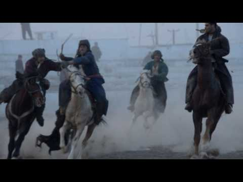Afghanistan's buzkashi horses prepare for battle