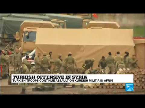 Turkish offensive in Syria: Troops continue assault on Kurdish militia in Afrin