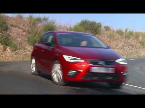 The new SEAT Ibiza FR TGI in Desire Red Driving Video