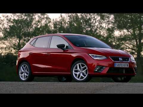 The new SEAT Ibiza FR TGI Design in Desire Red