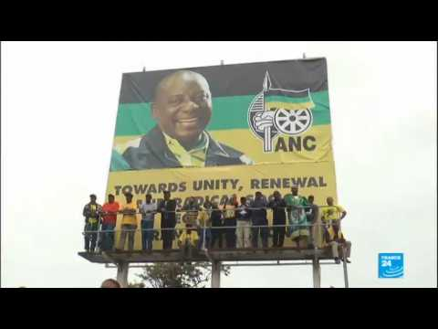 Cyril Ramaphosa sworn in as S Africa''s new president