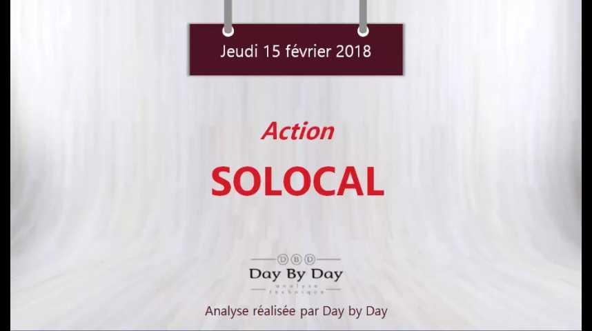 Illustration pour la vidéo Action Solocal : l'amélioration de la configuration se confirme - Flash analyse IG 15.02.2018