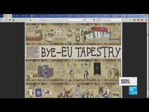 Bye-EU Tapestry is not for all tastes