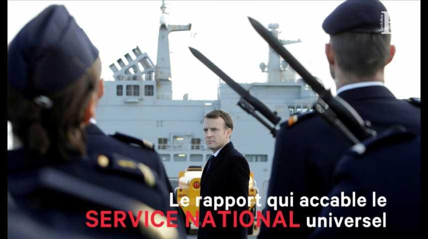 Illustration pour la vidéo Le rapport qui accable le service national universel