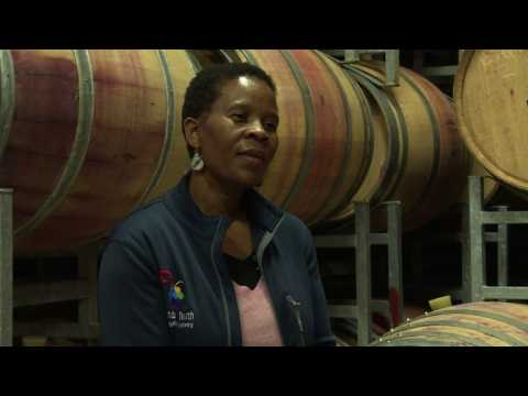 Black South African winemaker shakes up industry
