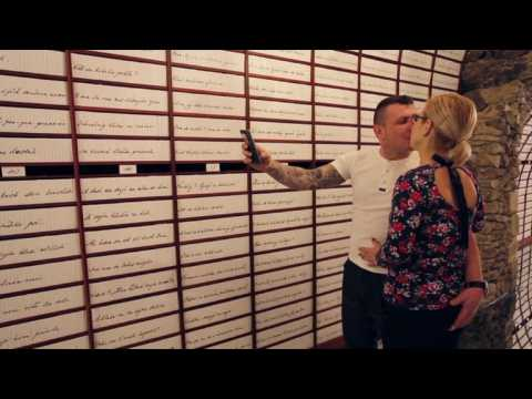 Couples make Valentine's Day deposit in 'Love Bank'