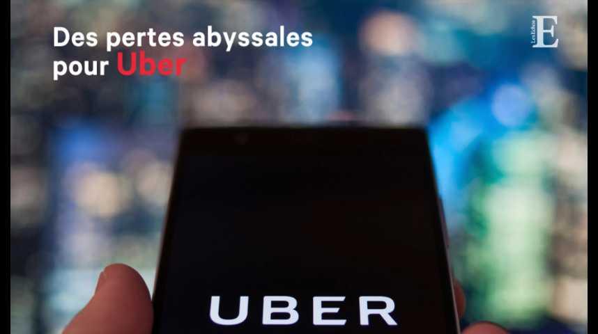 Illustration pour la vidéo Des pertes abyssales pour Uber