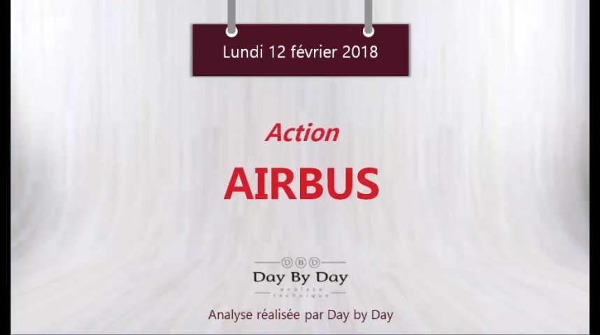 Illustration pour la vidéo Action Airbus : sur un support majeur - Flash Analyse IG 12.02.2018