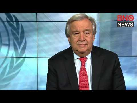 UN chief issues 'red alert' for world, calls for unity