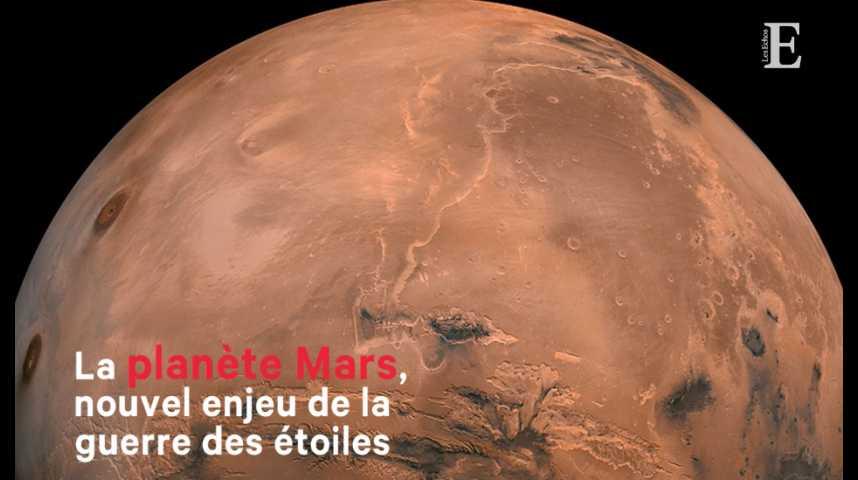 Illustration pour la vidéo La planète Mars, nouvel enjeu de la guerre des étoiles