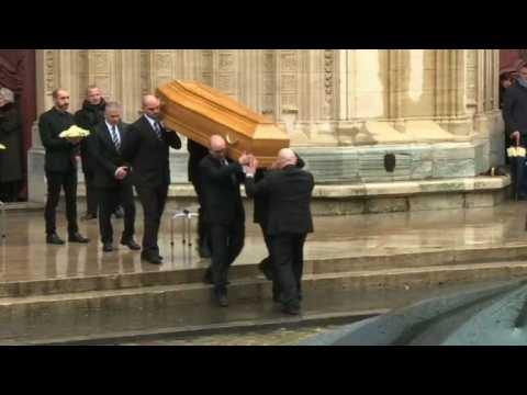 Thousands bid farewell to French chef Paul Bocuse (2)