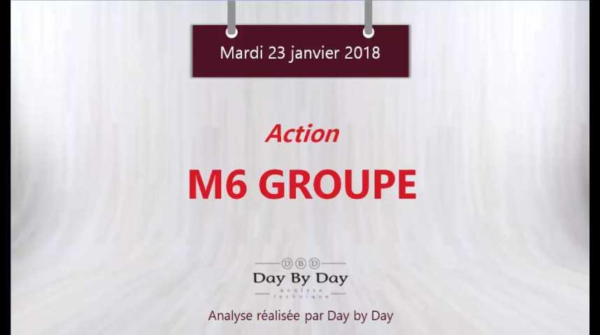 Illustration pour la vidéo Action M6 - sortie haussière d'une figure de consolidation- Flash analyse - IG 23.01.2018