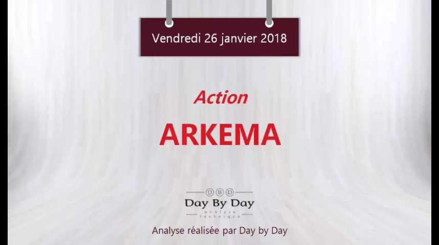 Illustration pour la vidéo Action Arkema : les perspectives restent haussières - Flash analyse IG 26.01.2018