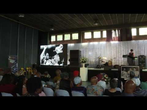 Memorial held for South African jazz legend Hugh Masekela