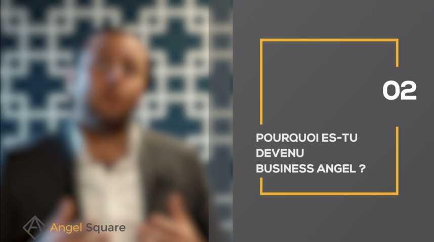 Illustration pour la vidéo Mon parcours de business angel : Marc Menasé