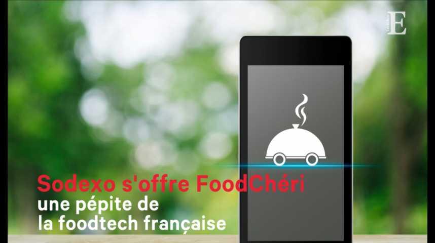Illustration pour la vidéo Sodexo s'offre FoodChéri, une pépite de la foodtech française
