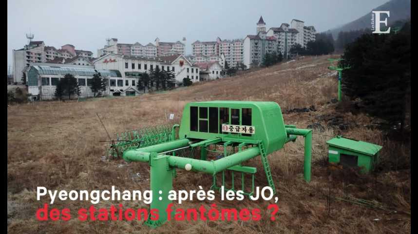 Illustration pour la vidéo Pyeongchang : après les JO, des stations fantômes ?