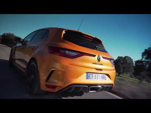 2018 New Renault MEGANE R.S. Sport chassis and EDC gearbox Driving Video