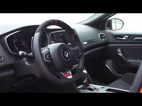 2018 New Renault MEGANE R.S. Sport chassis and EDC gearbox Interior Design