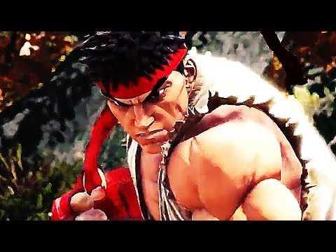 MONSTER HUNTER WORLD X STREET FIGHTER Trailer (2018) PS4 / Xbox One