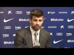 Piqué renueva hasta 2022 con el FC Barcelona