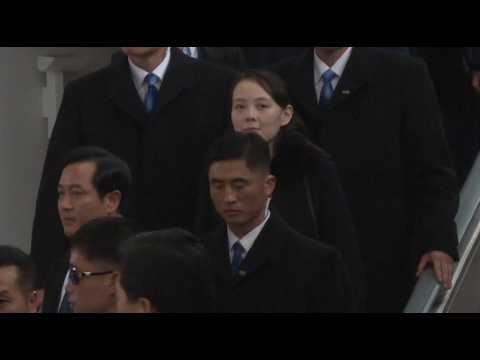 JO 2018 : la soeur de Kim Jong-un arrive en Corée du Sud