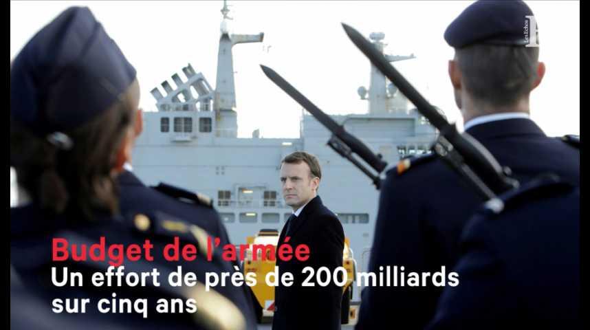 Illustration pour la vidéo Loi de programmation militaire : un effort de près de 200 milliards sur cinq ans