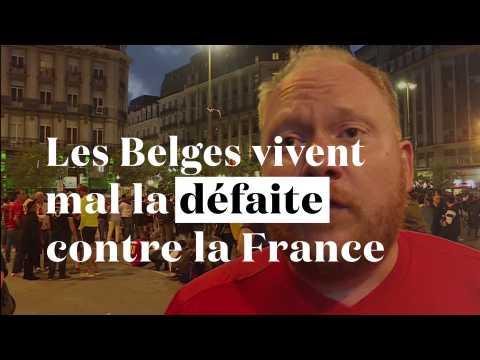 """""""On va en bouffer pendant 25 ans"""" : ces Belges vivent mal la défaite contre la France"""