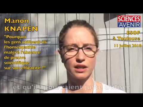 Extrait de l'entretien sur l'homéopathie avec Manon Knapen