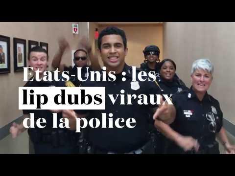 Etats-Unis : les policiers se mettent au lip dub et font des vidéos virales