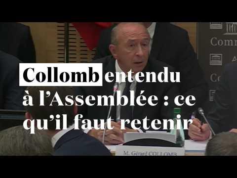 Gérard Collomb entendu à l'Assemblée : ce qu'il faut retenir