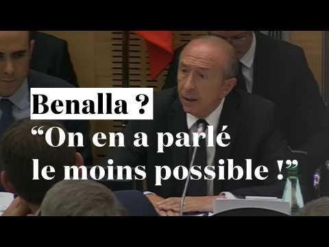 """Benalla ? """"On en a parlé le moins possible !"""" Collomb relate son échange avec Macron"""