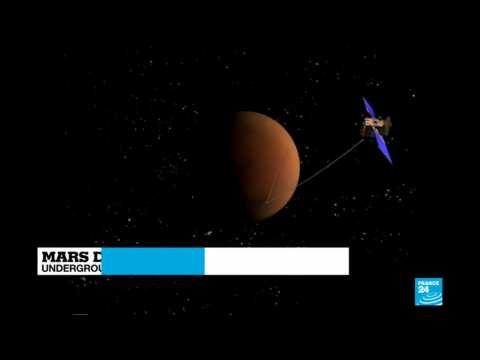 Underground liquid lake detected under surface of Mars
