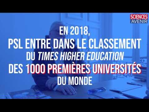 En 2018, PSL entre dans le classement du Times Higher Education des 1000 premières universités du monde