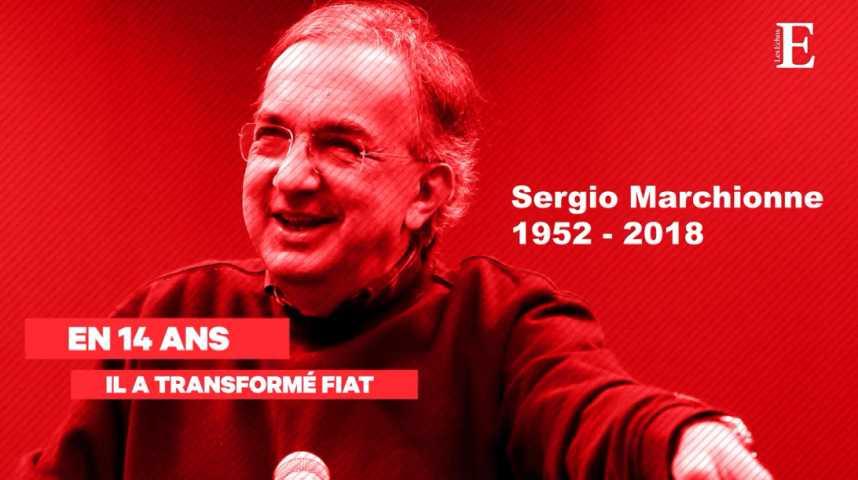 Illustration pour la vidéo Décès de Sergio Marchionne : retour sur 14 années passées à transformer Fiat