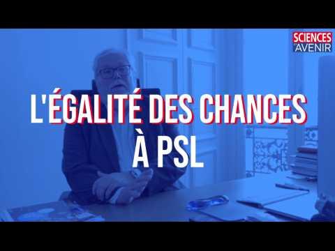 L'égalité des chances à PSL