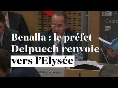 Affaire Benalla : le préfet Delpuech renvoie vers l'Elysée