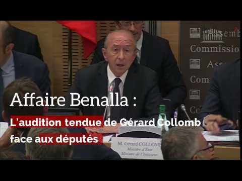 L'audition tendue de Gerard Collomb face aux députés