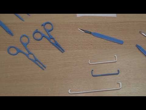 Disposable 3D-printed surgical instruments poised to revolutionise medical operations