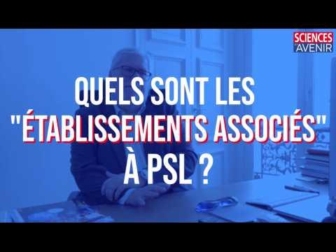 """Quels sont les """"établissements associés"""" à PSL ?"""