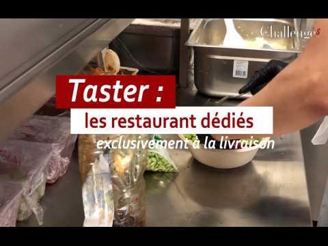Taster : Ces restaurants dédiés exclusivement à la livraison