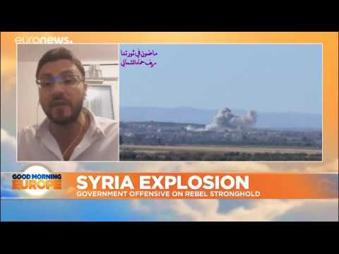 Civilians caught in Syrian end game