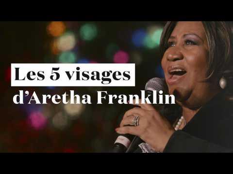 """Aretha Franklin est morte : redécouvrez les 5 visages de la """"Reine de la Soul"""""""