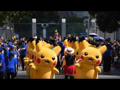 Gotta catch 'em all! Pikachu outbreak hits Yokohama