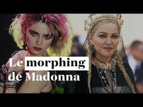 Les 60 visages de Madonna en une minute