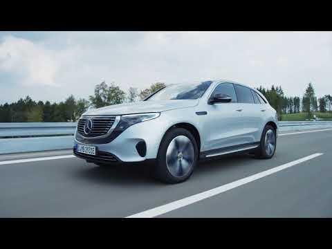 The new Mercedes-Benz EQC 400 4MATIC - Driving Video