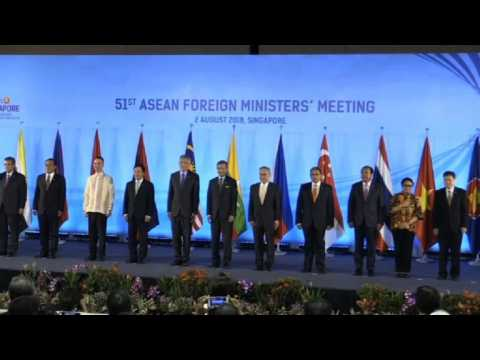 Opening ceremony of ASEAN Foreign Ministers meeting in Singapore