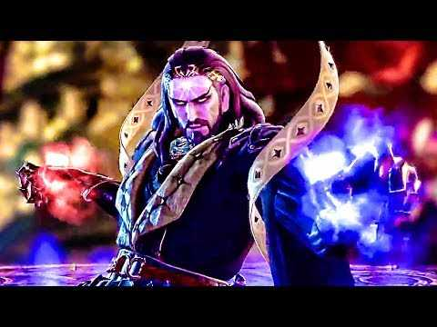 SOULCALIBUR 6: Azwel Gameplay Trailer (2018) PS4 / Xbox One / PC