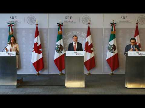 Mexico Wants Trilateral NAFTA Deal